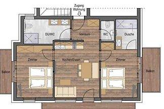 apartman za odmor Obiteljski odmor Nauders