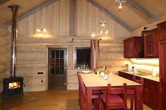 Log Cabins - Naturstamm Ferienhaus MeckPomm...