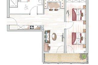 Wohnung Typ E für 4-6 Personen