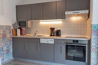 Wohnung 03 mit Terrasse und Boddenblick