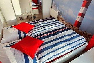 Appartement Strandliebe 100m² bis 6 Erw.