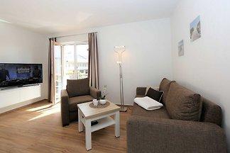 Die 2016 neu erbauten Ahlbecker Suiten befinden sich in ruhiger, aber sehr zentraler Lage des Seebades Ahlbeck.