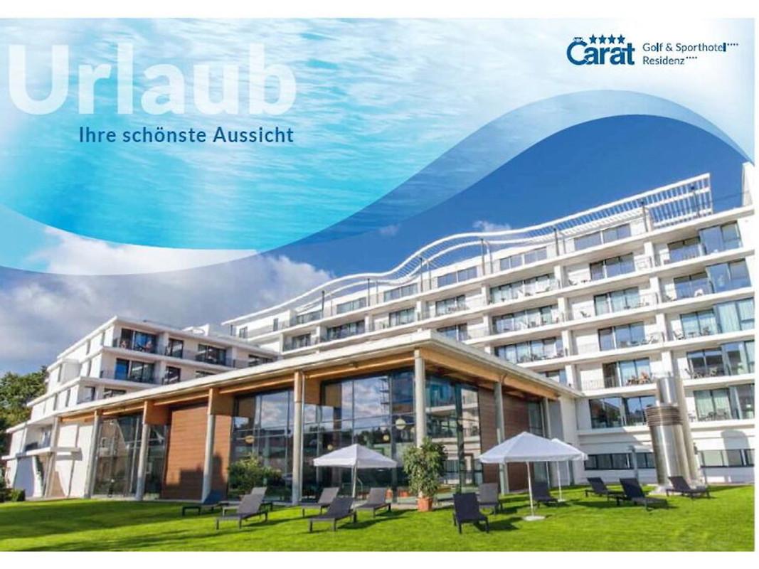 Carat Residenz 211 in Top-Lage - Ferienwohnung in Grömitz mieten
