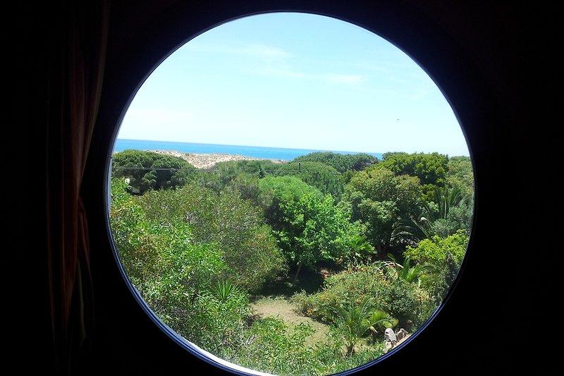 Blick aus dem Turmzimmer