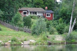 Ferienhaus direkt am See Schweden