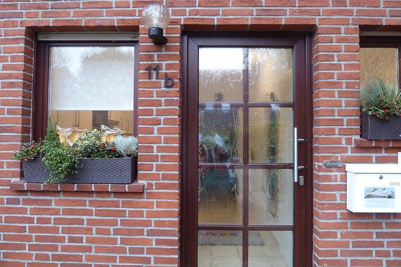 Eingang Ferienhaus Lenz