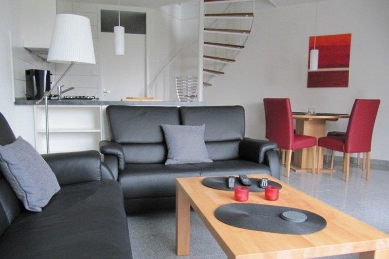Strandhaus Zeeland  - der Wohnbereich