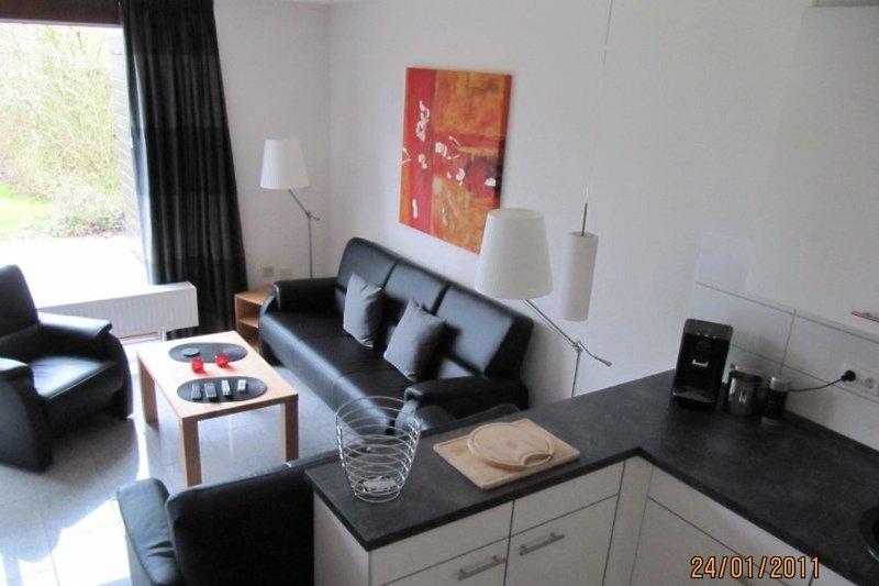 Strandhaus Zeeland  - die Küche