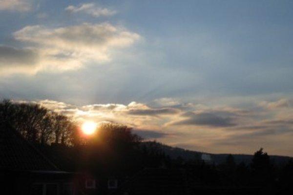 Ihre schöne Aussicht auf den Sonnenuntergang über Hagen
