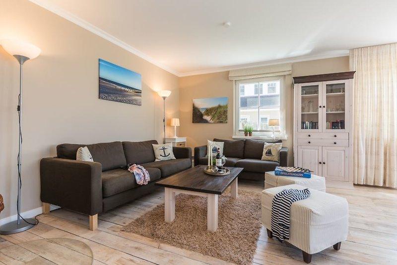 Gemütlicher Sitzbereich im Wohnzimmer