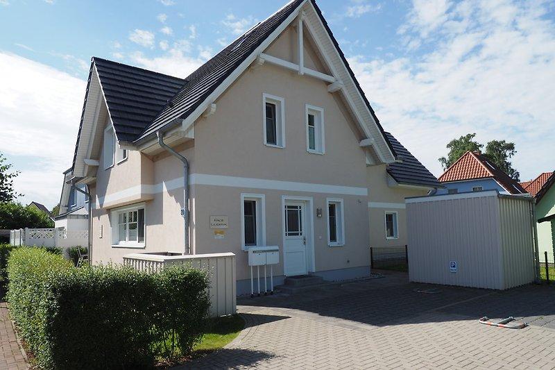Haus Lilienthal Eingang