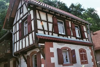 Small Alsatian village house
