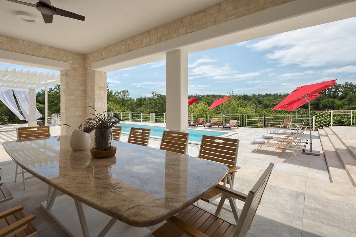 Ontwerp villa sole vakantiehuis in svetvincenat huren
