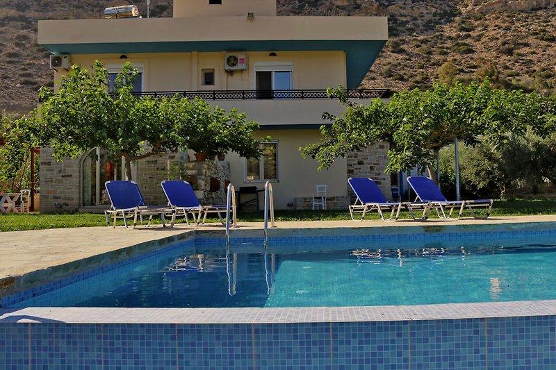 Eleni Villa - Swimming Pool