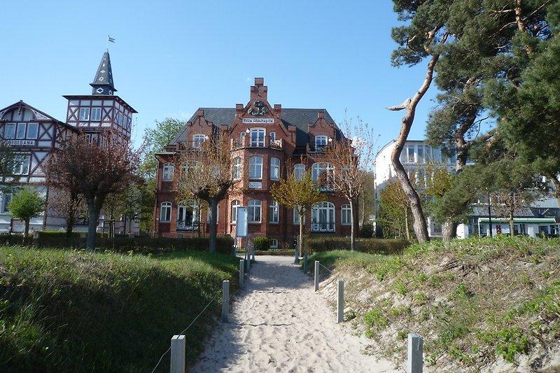 Strandvilla Glückspilz in Binz.