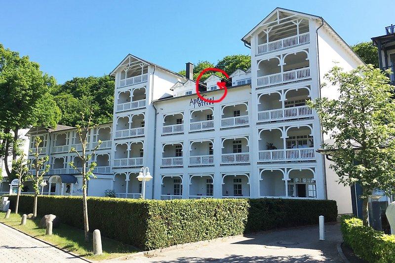 Apartmenthaus Ostsee in Binz.