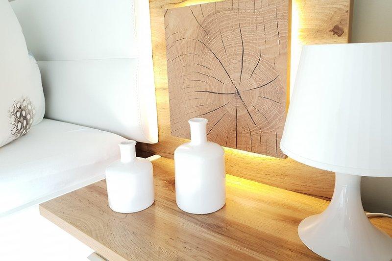 Schlafzimmer mit Liebe zum Detail