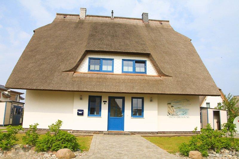 Ferien-Doppelhaus Ostseebrandung /rechts Haus Seestern