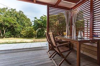 Karla ist schöne und moderne Terrassenwohnung!