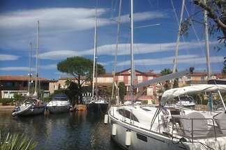 Port Grimaud with mooring