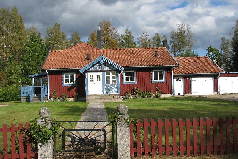Frontansicht Haus Skogskvarn