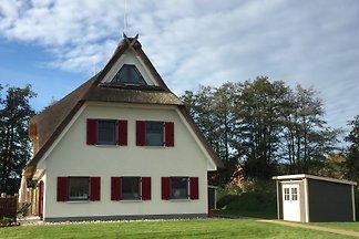 Exklusives Ferienhaus für 6 Personen mit 3 Schlafräumen, 2 Bädern, Infrarotsauna. Genießen Sie die Sonne auf der großen Terrasse mit Südausrichtung!