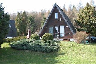 Finnhütte am Muckenberg in Saaldorf