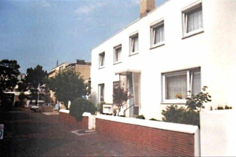 Unser Hauseingang in der Bogenstrasse