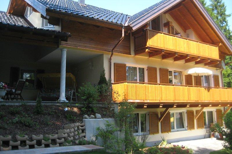 Villa-Wallersee Südansicht