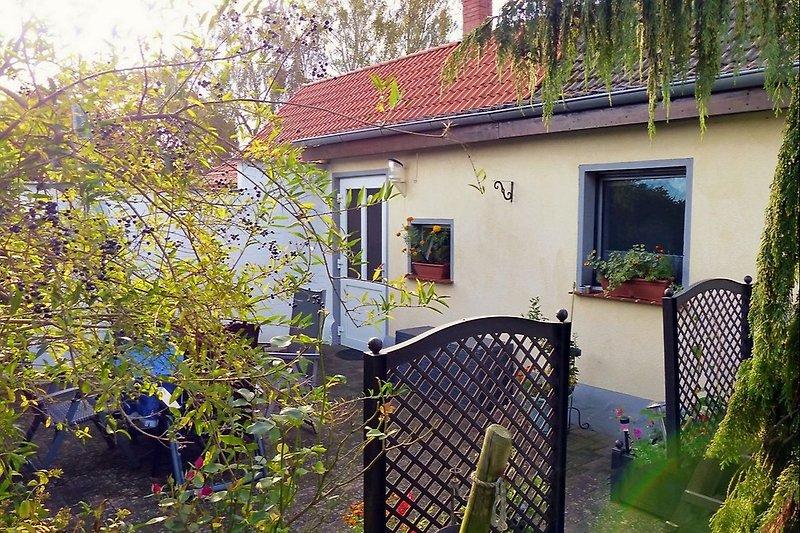 Ferienhaus mit umgrünter Terrasse