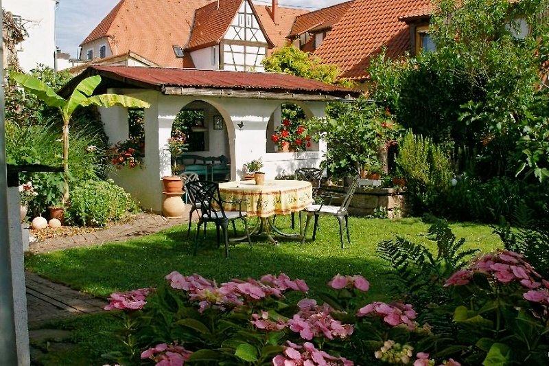 Garten für unsere Gäste