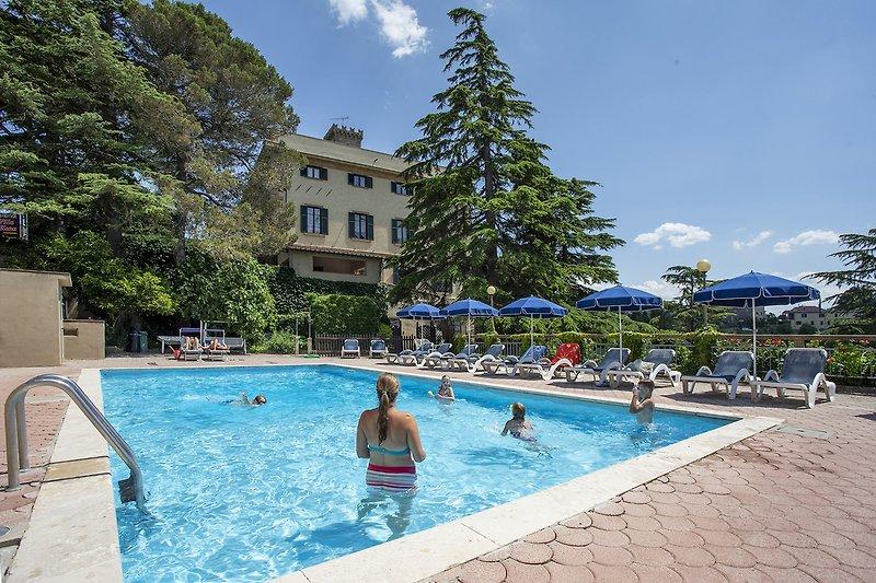 Residence villa Elena. Das Pool