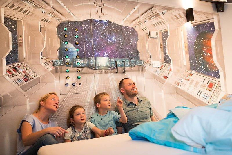 Stylistisches Kinderzimmer Sternshuttle Interaktive