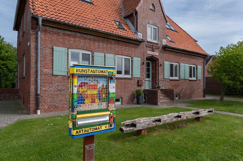 Zollhaus mit Kunstautomaten