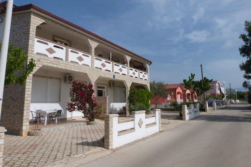 Ferienhaus Zoka auf der Insel Vir