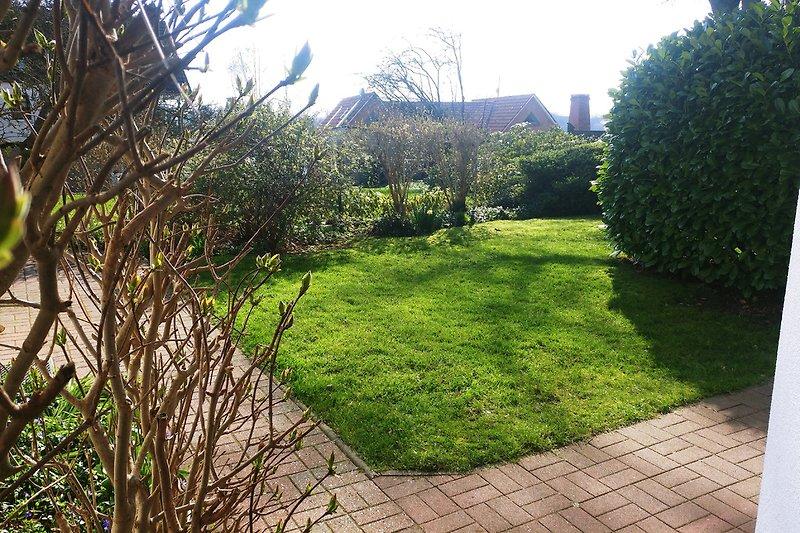 kleiner Garten zum Haus