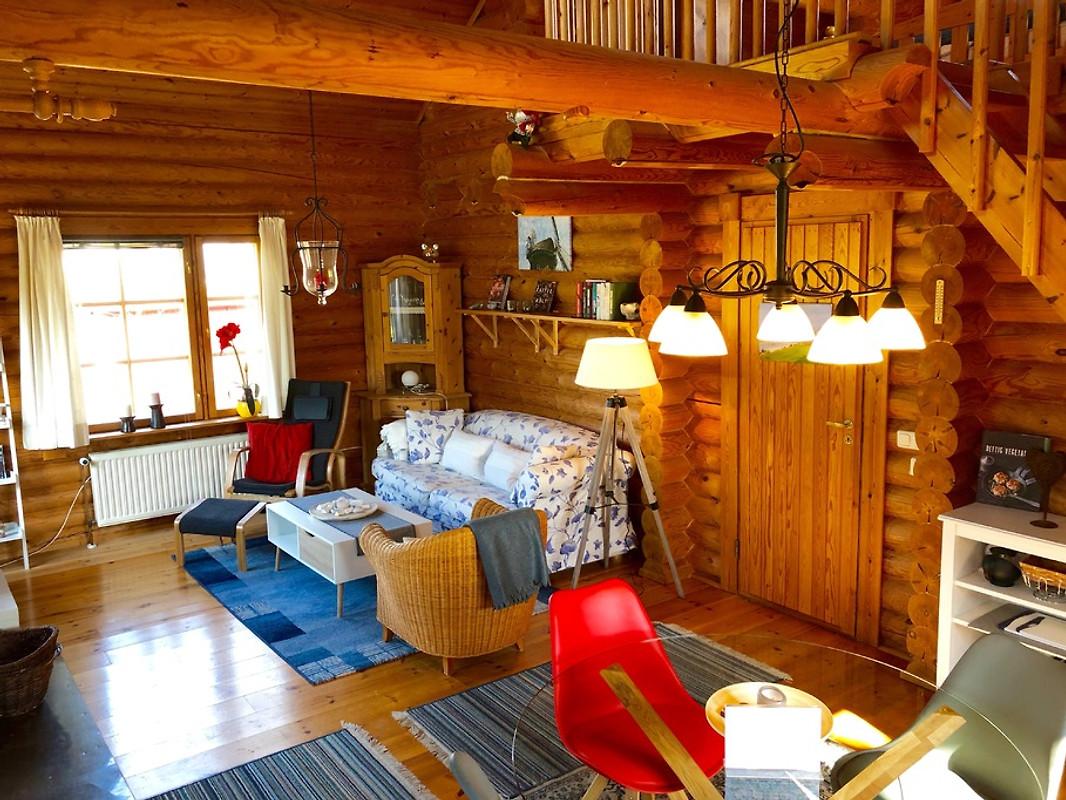 das rote blockhaus ferienhaus in nieby mieten. Black Bedroom Furniture Sets. Home Design Ideas