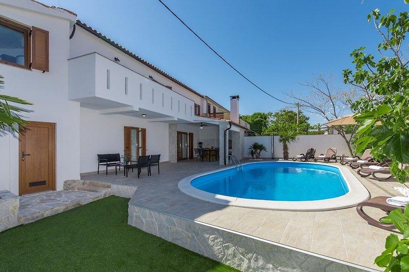 Villa Zlata mit eigenem Pool