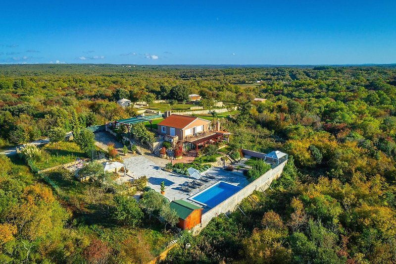 Ferienhaus Julian mit privatem Pool
