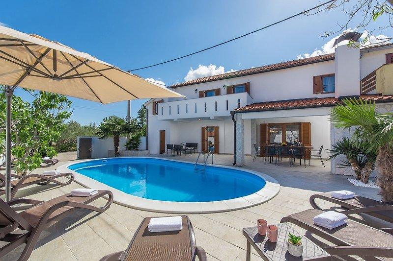 Villa Zlata with private pool