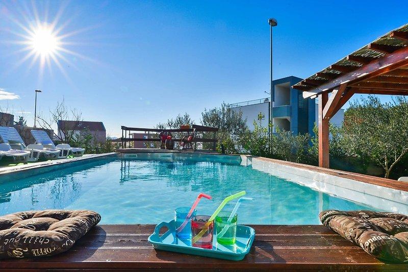 Villa Niko mit eigenem Pool