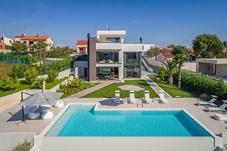 Premium-Villa mit Meerblick Whirlpool