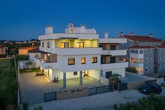 Villa Barmel Apartment mit Balkon