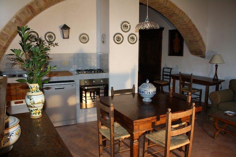 Cucina/pranzo/soggiorno