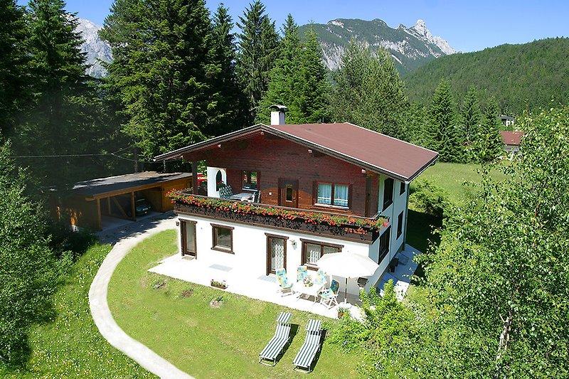 Haus Romantic Leutasch   Sommer