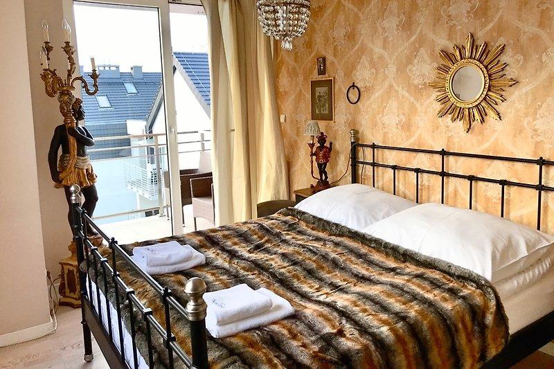 Schlafzimmer im Barockstil