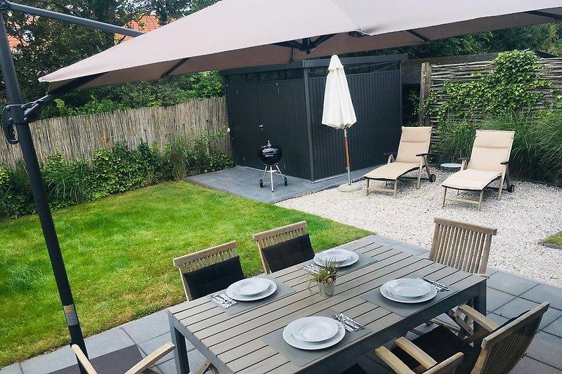 Garten und Terrasse