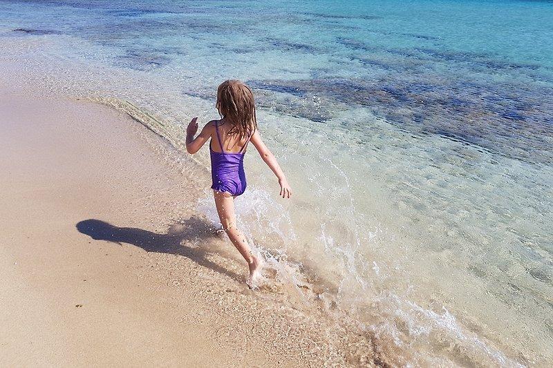 den Sand geniesen