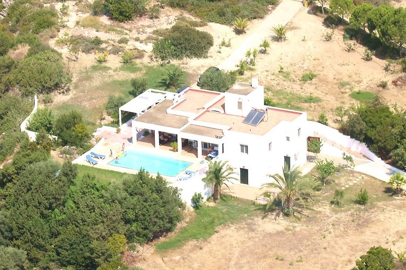 Villa Chevalier aerial photo