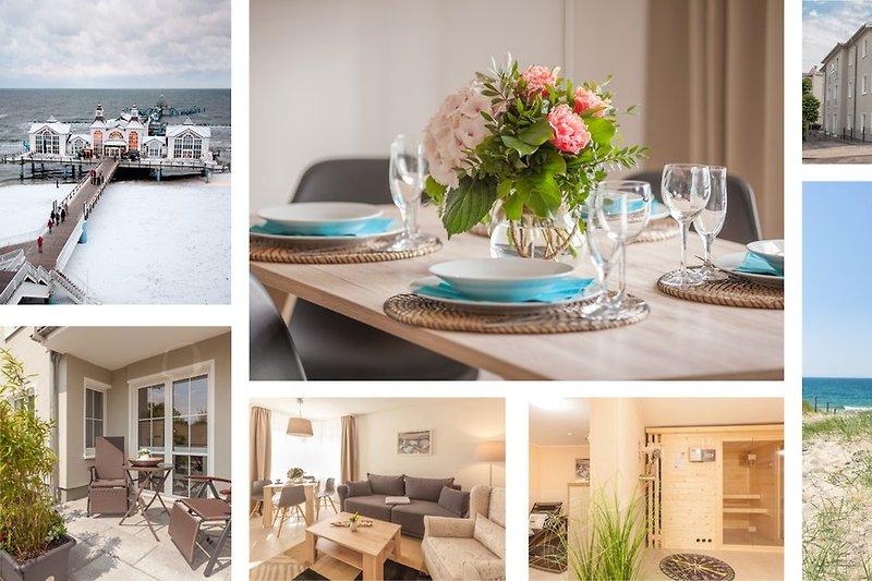 Villa Manatee - exklusive Wohlfühl-Appartements im nordisch modernen Einrichtungsstil mit Balkon oder Terrasse im Herze